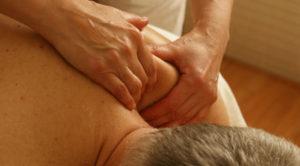 Massage er igang